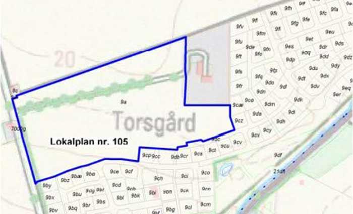 Lokalområde 105 - Thorsvænge i Rødvig
