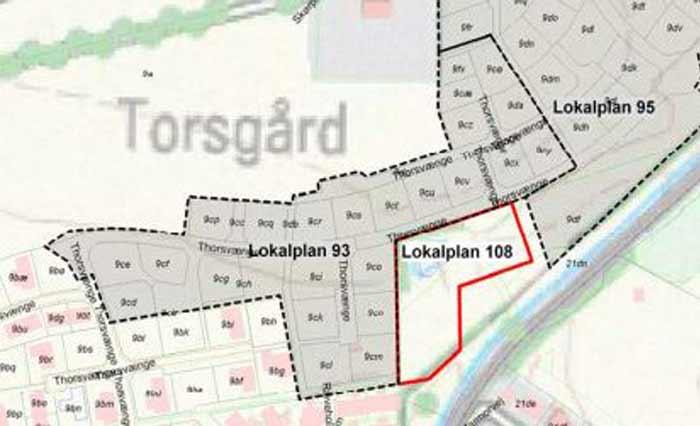 Lokalområde 108 - Thorsvænge i Rødvig