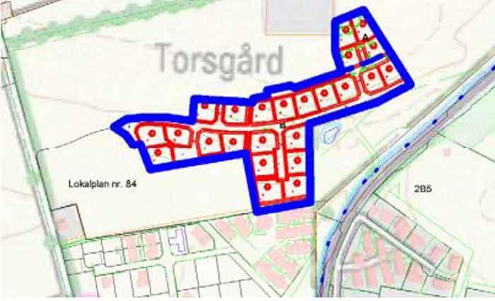 Lokalområde 93 - Thorsvænge i Rødvig